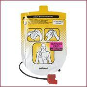TRAININGS elektroden Defibtech Lifeline AED